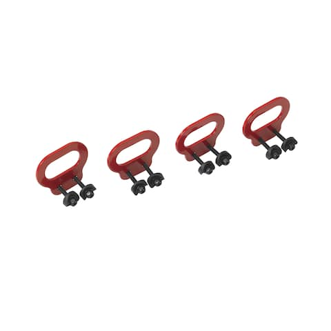 Drive Medical Trotter Mobility Rehab Stroller Bus Transit Tie Downs - Red