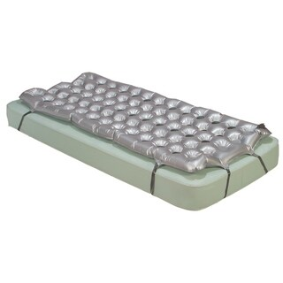 Drive Medical Air Mattress Overlay Support Surface - Gray