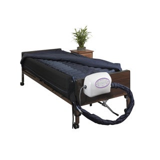 Drive Medical Lateral Rotation 10-inch Mattress with on Demand Low Air Loss