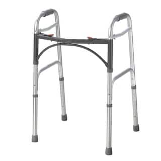 Drive Medical Deluxe Two Button Folding Walker|https://ak1.ostkcdn.com/images/products/9210128/P16380558.jpg?impolicy=medium