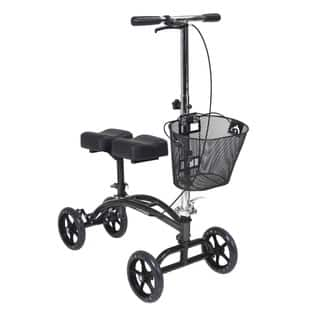Drive Medical Dual Pad Steerable Knee Walker with Basket, Alternative to Crutches https://ak1.ostkcdn.com/images/products/9210129/P16380559.jpg?impolicy=medium