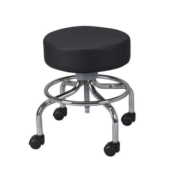 Wheeled Round Stool Free Shipping Today Overstock Com