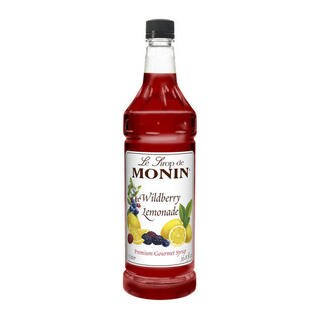 Monin Wildberry Lemonade Syrup (Case of 4)