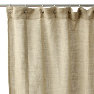 Jack Rustic Cotton Shower Curtain