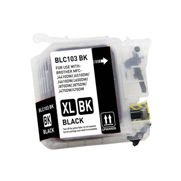 INSTEN Color/ Black Compatible Ink Cartridge for Brother J4510DW J4610DW J4710DW