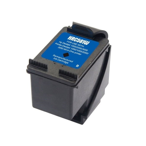 Insten Black Remanufactured Ink Cartridge Replacement for HP CH561WN/ 61