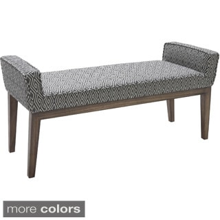 Sunpan '5West' Harrod Diamond Black Bench