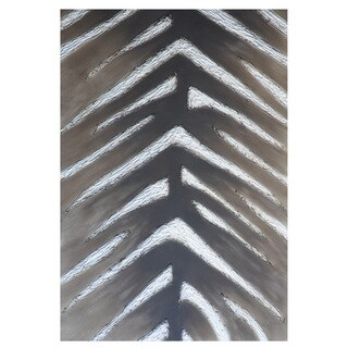 Sunpan 'Ikon' 'Zebra' Contemporary Canvas Wall Art
