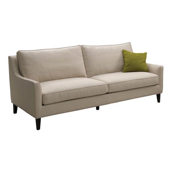 sunpan 39 5west 39 hanover beige sofa free shipping today. Black Bedroom Furniture Sets. Home Design Ideas
