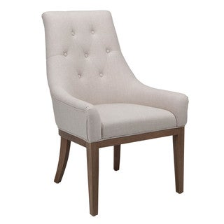 Sunpan '5West' Elizabeth Linen Fabric Chair