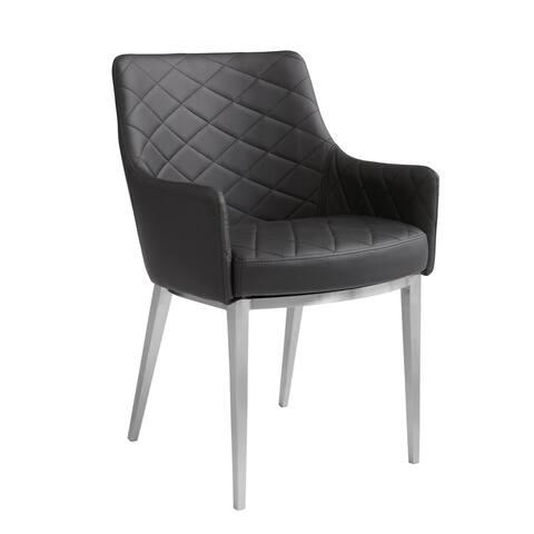 Sunpan 'Ikon' Chase Faux Leather Armchair