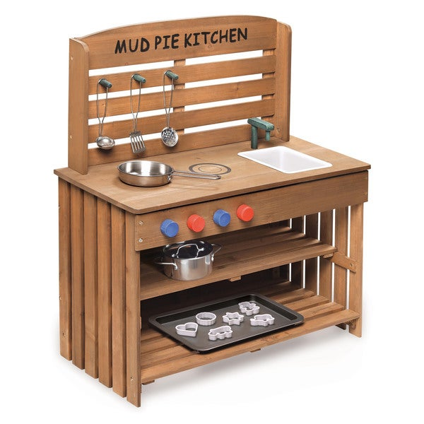 Shop Outdoor Chef Mud Pie Kitchen With Cooking Accessories