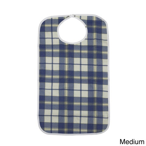 Drive Medical Lifestyle Flannel Bib