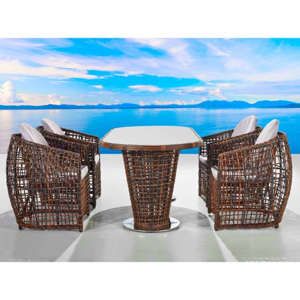 Bel-Air 5-piece All Weather Outdoor Dining Set