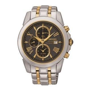 Seiko Men's SSC194 Grand Solar Alarm Chronograph Watch