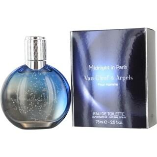 Van Cleef & Arpels Midnight in Paris Men's 2.5-ounce Eau de Toilette Spray