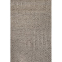 Merit Natural Geometric Tan/ White Area Rug - 4' x 6'