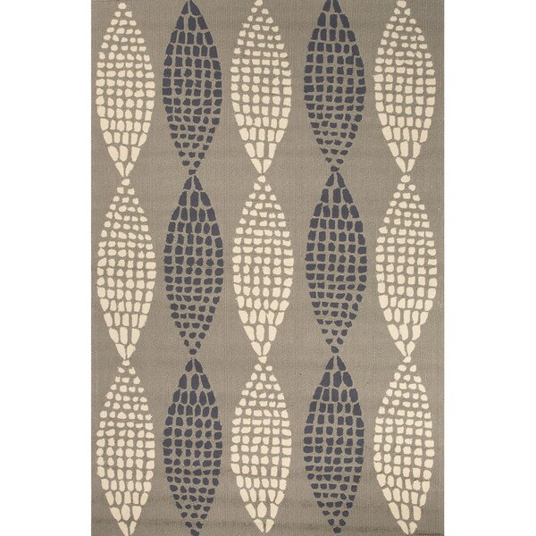 Handmade Geometric Pattern Grey Area