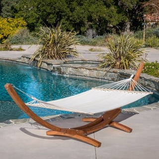 grand cayman hammock by christopher knight home cape cod canvas hammock   free shipping today   overstock        rh   overstock