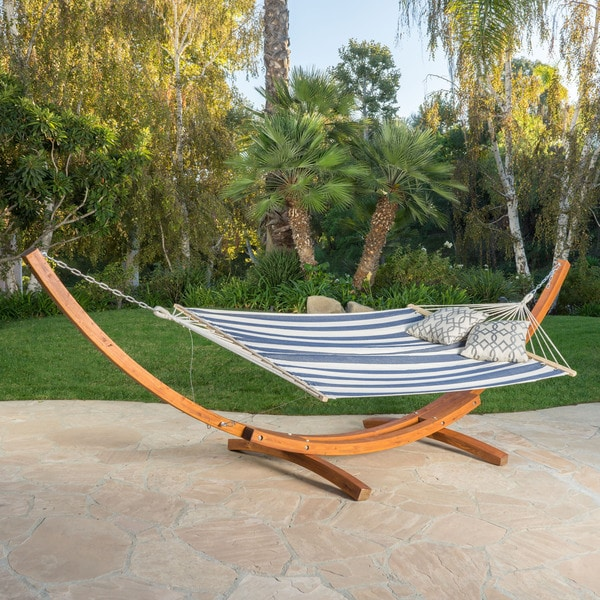 Richardson Outdoor Modern Hammock by Christopher Knight Home - 400 lb limit