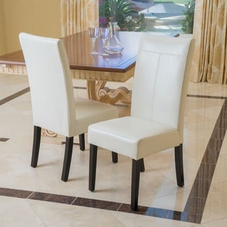 Lissa Ivory Dining Chair (Set of 2) by Christopher Knight Home