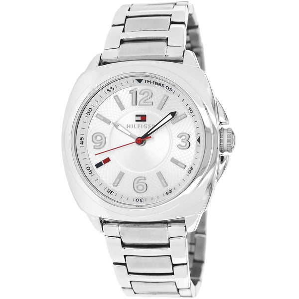 7adfabaf Shop Tommy Hilfiger Women's Zoey Stainless Steel Watch - Free Shipping  Today - Overstock - 9214701