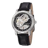 Stuhrling Original Men's Delphi Dauphin Automatic Leather Strap Watch