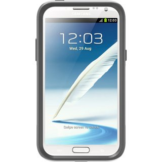 Otterbox Commuter Series White / Grey Case for Samsung Galaxy Note II