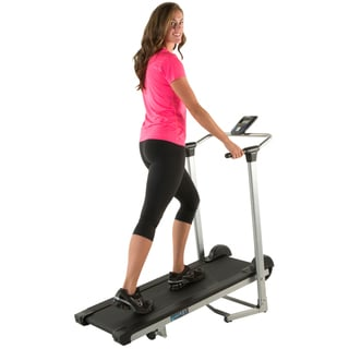 PROGEAR LX225 Cushion Deck Manual Treadmill with Additional Weight Capacity and Heart Rate System