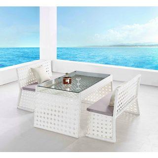 Sun Terrace 3-piece Outdoor Dining Set