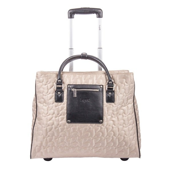 9ccd58ab8bf Shop Bugatti Women s Textured Carry On Rolling 17-inch Laptop Case ...