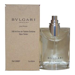 Bvlgari Men's Bvlgari Extreme 3.4-ounce Eau de Toilette Spray (Tester)
