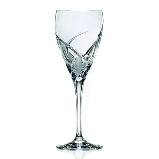 Crystal Grosetto Collection Red Wine Stem Glasses (Set of 4)