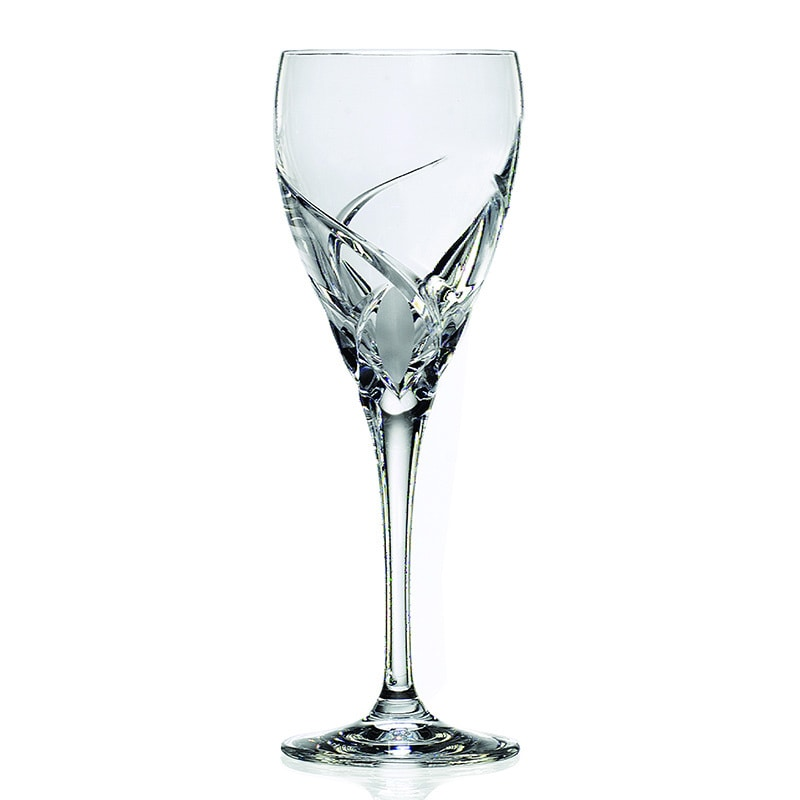 Lorren Home Trend Crystal Grosetto Collection White Wine ...