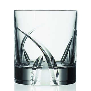 Crystal Grosetto Collection Double Old Fashion Glasses (Set of 4)