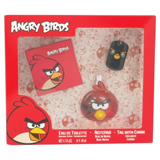 Air-Val Angry Birds Red 3-piece Fragrance Set
