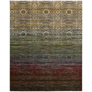 Nourison Rhapsody Multicolor Area Rug (7'9 x 9'9)