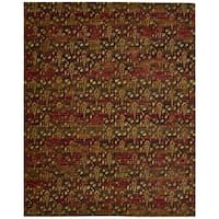 Nourison Rhapsody Flame Red Area Rug