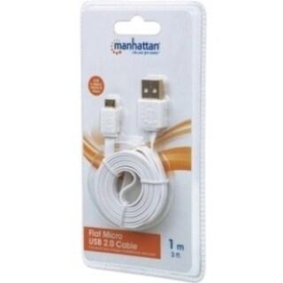 Manhattan Flat Micro-USB Cable