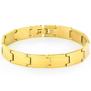 Stainless Steel Men's Link Bracelet|https://ak1.ostkcdn.com/images/products/9215592/P16385068.jpg?impolicy=medium