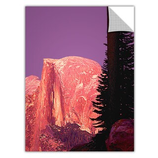 Dean Uhlinger 'Halfdome Glow' Removable wall art graphic