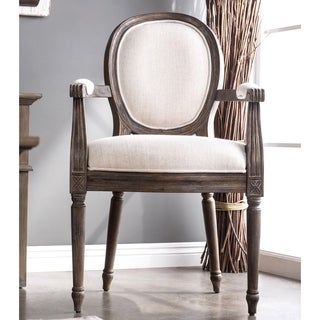 Furniture of America Greyjoy Reclaimed Accent Chair