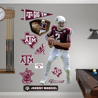 Fathead 'Johnny Manziel Texas A&M' Wall Decals