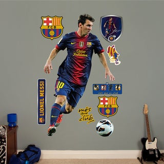 Fathead 'Lionel Messi' Wall Decals