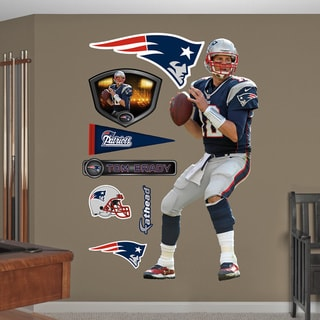 Fathead 'Tom Brady-QB' Wall Decals