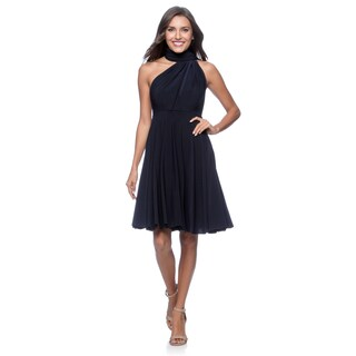 Women's Short Dress Convertible Wrap Cocktail Gown Multi Way Bridesmaid Dresses One Size Fits 0-12 (More options available)