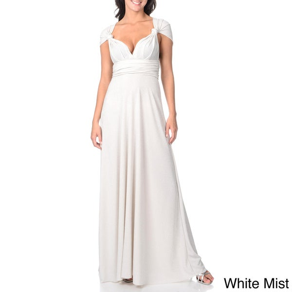 US Ever-Pretty Wrap Sleeveless Long Maxi Cocktail Prom Dresses Party Gowns 0927