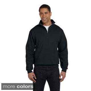 Men\u0027s Quarter-zip Cadet Collar Sweatshirt