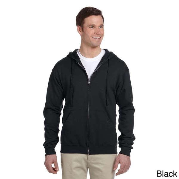 Mens 50/50 NuBlend Fleece Full-zip Hoodie