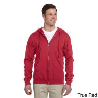 Men's 50/50 NuBlend Fleece Full-zip Hoodie (More options available)